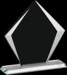 Corporate Sable Diamond Glass Award Sales Awards