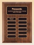 American Walnut Perpetual Plaque Sales Awards